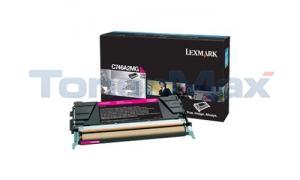 LEXMARK C746 TONER CARTRIDGE MAGENTA (C746A2MG)