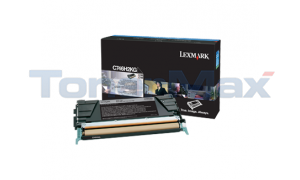 LEXMARK C746 TONER CARTRIDGE BLACK HY (C746H2KG)