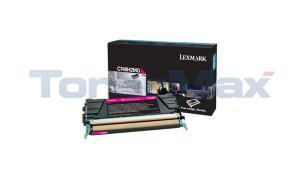 LEXMARK C748 TONER CARTRIDGE MAGENTA HY (C748H2MG)