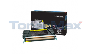 LEXMARK C748 TONER CARTRIDGE YELLOW HY (C748H2YG)