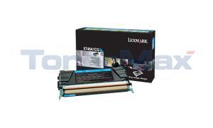 LEXMARK X746 TONER CARTRIDGE CYAN RP (X746A1CG)