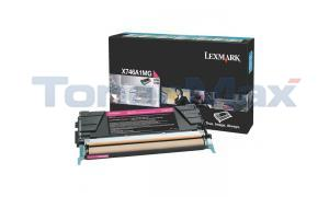 LEXMARK X746 TONER CARTRIDGE MAGENTA RP (X746A1MG)