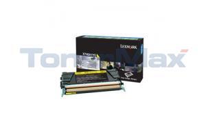 LEXMARK X746 TONER CARTRIDGE YELLOW RP (X746A1YG)