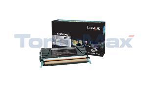LEXMARK X746 TONER CARTRIDGE BLACK RP HY (X746H1KG)
