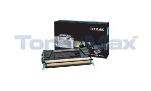 LEXMARK X746 TONER CARTRIDGE BLACK HY (X746H2KG)