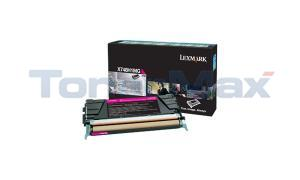 LEXMARK X748 TONER CARTRIDGE MAGENTA RP HY (X748H1MG)