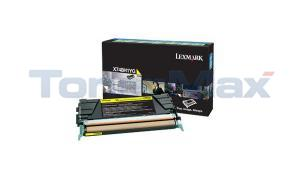 LEXMARK X748 TONER CARTRIDGE YELLOW RP HY (X748H1YG)