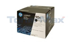 HP NO 90X PRINT CARTRIDGE DUAL PACK 48K (CE390XD)