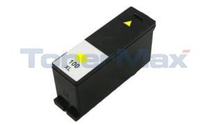 Compatible for LEXMARK PLATINUM PRO905 100XL INK YELLOW HY RP (14N1071)