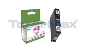 DELL 31 SERIES SINGLE USE INK CARTRIDGE MAGENTA (331-7690)
