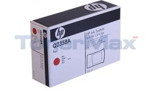 HP TIJ 2.5 NON-FLUORESCENT BULK INK CTG RED 350ML (Q2358A)