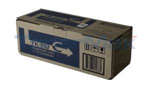 KYOCERA MITA FS-C5200DN TONER KIT CYAN (TK-552C)