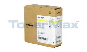 CANON PFI-306Y INK TANK YELLOW PIGMENT 330ML (6660B001)