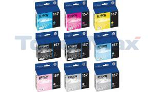 EPSON 157 INK BUNDLE 9 COLORS (157-INK-BUNDLE)