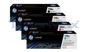 HP 128A PRINT CARTRIDGE BUNDLE PACK (BLACK, CYAN, MAGENTA, YELLOW) (128A-BUNDLE)