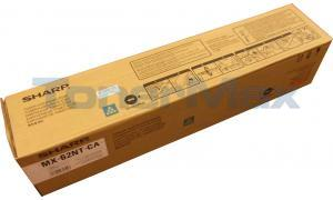 SHARP MX-6240N TONER CARTRIDGE CYAN (MX-62NT-CA)