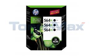 HP NO 564XL INK CARTRIDGE BLACK TRI-PACK (CR305BN)