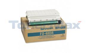 SHARP FO4800 LASER DRUM BLACK (FO-48DR)