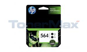 HP NO 564 INK CARTRIDGE BLACK TWIN-PACK (C2P51FN)