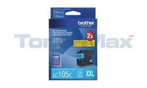 BROTHER MFC-J4410DW INK CARTRIDGE CYAN XHY (LC-105C)