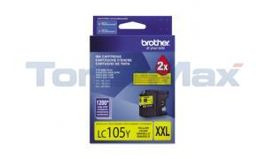 BROTHER MFC-J4410DW INK CART YELLOW XHY (LC-105Y)