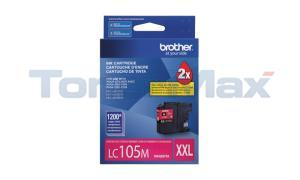 BROTHER MFC-J4410DW INK CART MAGENTA XHY (LC-105M)