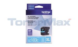 BROTHER MFC-J4410DW INK CARTRIDGE CYAN HY (LC-103C)