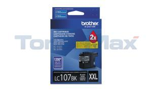 BROTHER MFC-J4410DW INK CARTRIDGE BLACK XHY (LC-107BK)