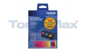 BROTHER MFC-J4410DW INK CTG CMY XHY TRI-PACK (LC-1053PKS)