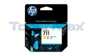 HP NO 711 INK CARTRIDGE YELLOW 29ML (CZ132A)