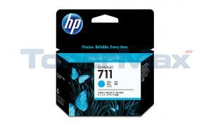 HP NO 711 INK CARTRIDGE CYAN 29ML TRI-PACK (CZ134A)