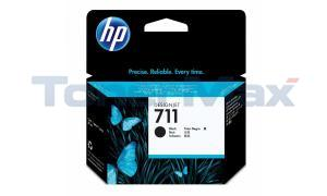 HP NO 711 INK CARTRIDGE BLACK 80ML (CZ133A)
