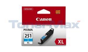 CANON CLI-251XL INK TANK CYAN (6449B001)