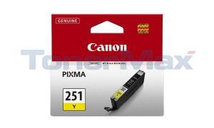 CANON CLI-251Y INK TANK YELLOW (6516B001)