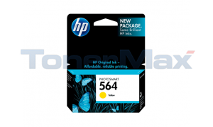 HP NO 564 INK CARTRIDGE YELLOW (CN683WN)