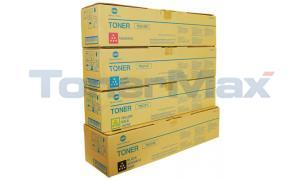 KONICA MINOLTA TN-314 TONER BUNDLE PACK (BLACK, CYAN, MAGENTA, YELLOW) (TN-314-BUNDLE)