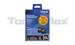 BROTHER MFC-J4610DW INK CTG BLACK XHY TWIN PACK (LC-1072PKS)