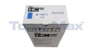 RISO HC 5000 INK CYAN (S-4671)