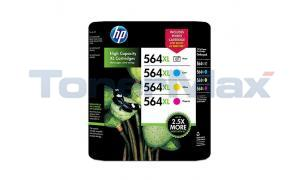 HP NO 564XL INK CART CMY/PHOTO COMBO PACK (CH603BN)