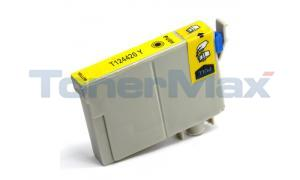 Compatible for EPSON STYLUS NX125 MODERATE-USE INK CARTRIDGE YELLOW (T124420)