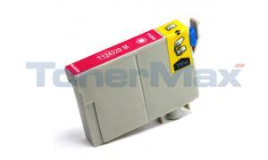 Compatible for EPSON STYLUS NX125 MODERATE-USE INK CARTRIDGE MAGENTA (T124320)