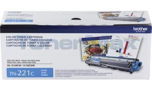 BROTHER MFC-9330CDW TONER CARTRIDGE CYAN 1.4K (TN-221C)