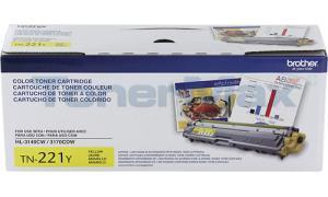 BROTHER MFC-9330CDW TONER CARTRIDGE YELLOW 1.4K (TN-221Y)