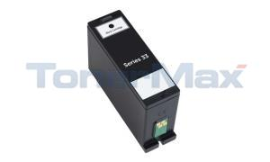 Compatible for DELL 33 SERIES SINGLE USE INK CARTRIDGE BLACK XHY (331-7377)