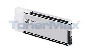 Compatible for EPSON STYLUS PRO 4880 INK CARTRIDGE PHOTO BLACK 220ML (T606100)