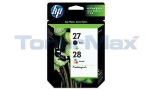 HP NO 27 28 INKJET CART BLACK/COLOR (C9323FN)