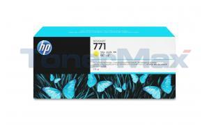 HP NO 771A INK CARTRIDGE YELLOW 775ML (B6Y18A)
