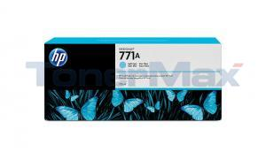HP NO 771A INK CARTRIDGE LIGHT CYAN 775ML (B6Y20A)