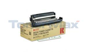 RICOH AFICIO FX10 TYPE 1110D TONER CASSETTE BLACK (339587)