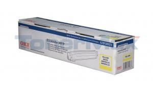 OKIDATA ES3640E TONER CARTRIDGE YELLOW (42918921)